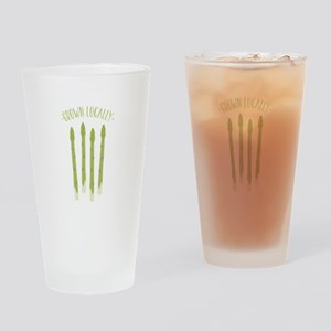 Grown Locally Drinking Glass
