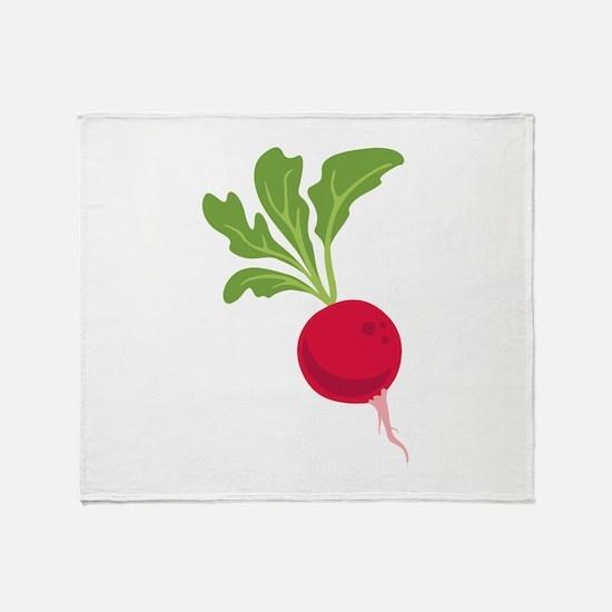 Radish Throw Blanket