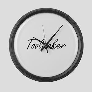 Toolmaker Artistic Job Design Large Wall Clock