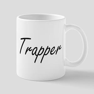 Trapper Artistic Job Design Mugs