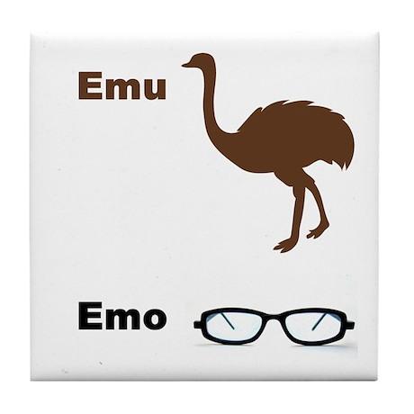 Emu Emo Tile Coaster