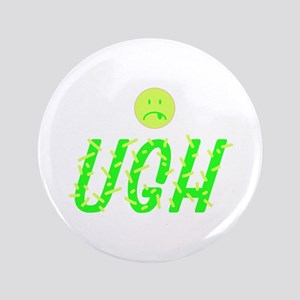 UGH Frown Face Button