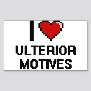 I love Ulterior Motives digital design Sticker