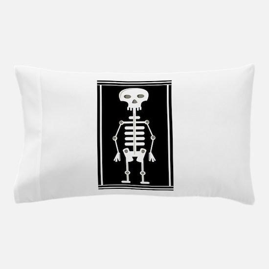 Skeleton Pillow Case