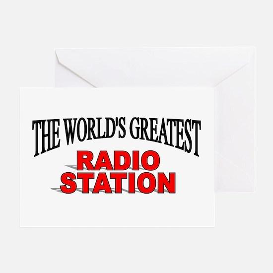 """The World's Greatest Radio Station"" Greeting Card"