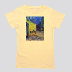 cafe terrace at night Girl's Tee
