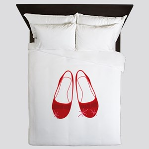 Ruby Sllippers Queen Duvet