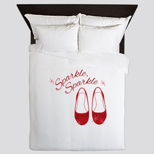 Sparkle Slippers Queen Duvet