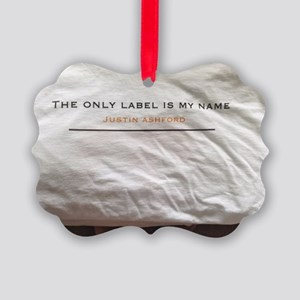 Theonlylabelismyname Picture Ornament