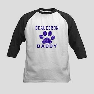 Beauceron Daddy Designs Kids Baseball Jersey