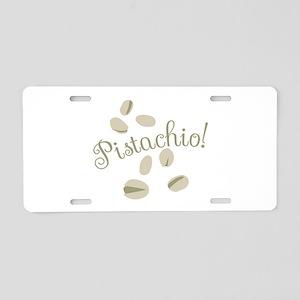 Pistachio Nuts Aluminum License Plate