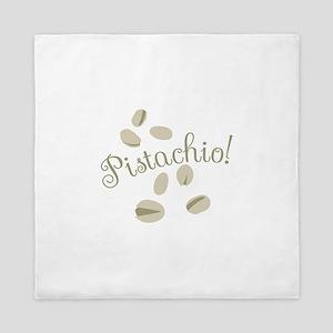 Pistachio Nuts Queen Duvet