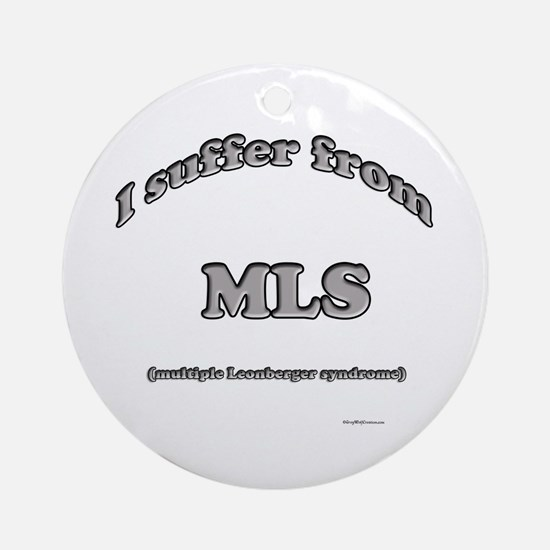 Leonberger Syndrome Ornament (Round)