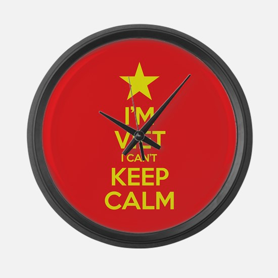 I'm Viet I Can't Keep Calm Large Wall Clock
