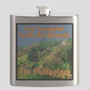 Visit Corregidor Pacific War Memorial Flask