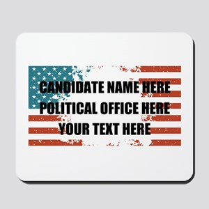 Personalized USA President Mousepad