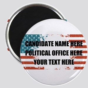 Personalized USA President Magnet