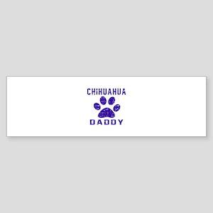 Chihuahua Daddy Designs Sticker (Bumper)