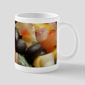 Blackbean and Corn Salad Mugs