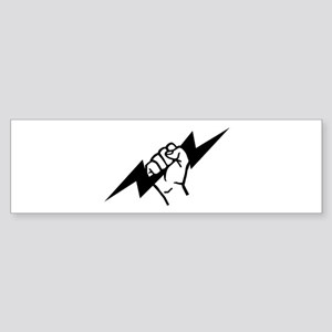 Flash Electrician Sticker (Bumper)