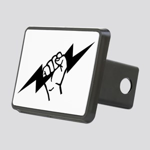 Flash Electrician Rectangular Hitch Cover