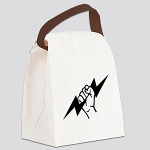 Flash Electrician Canvas Lunch Bag