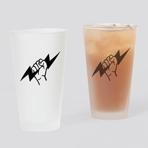 Flash Electrician Drinking Glass