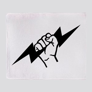 Flash Electrician Throw Blanket