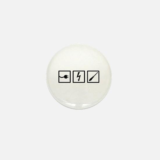 Electrician equipment Mini Button