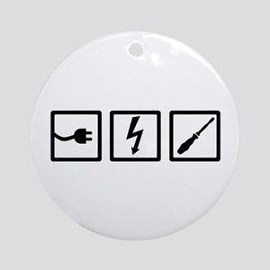 Electrician equipment Round Ornament
