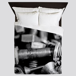 Washers And Wingnuts Queen Duvet