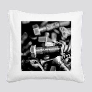 washers and wingnuts Square Canvas Pillow