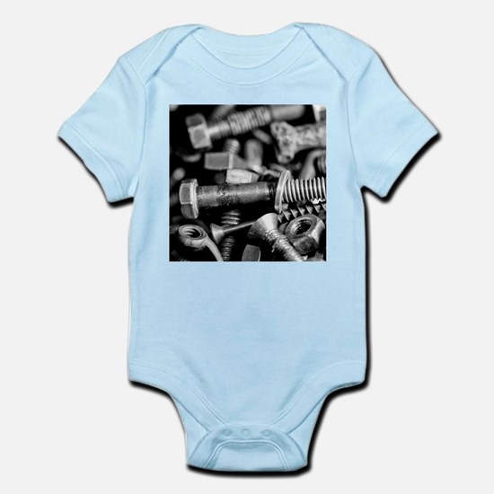 washers and wingnuts Infant Bodysuit