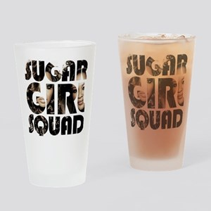 Girl Squad Gear Drinking Glass