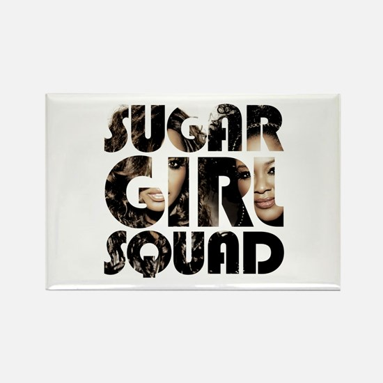 Girl Squad Gear Rectangle Magnet 3.125 X Magnets