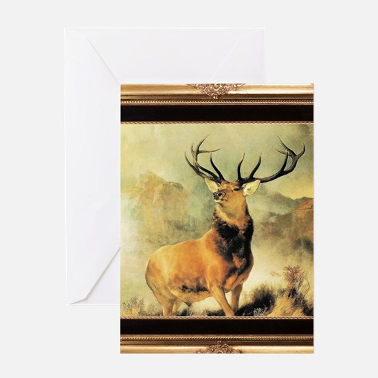 Monarch of the Glen Greeting Cards