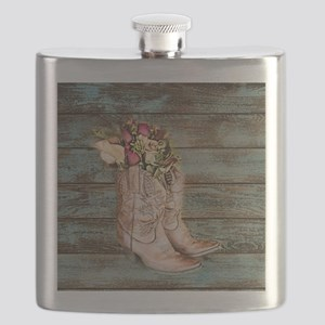 cowboy boots Flask
