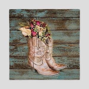 cowboy boots Queen Duvet
