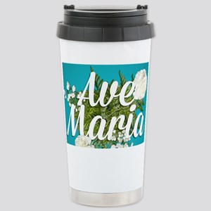Ave Maria Stainless Steel Travel Mug