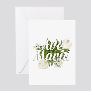 Ave Maria Greeting Cards