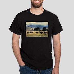 National Parks Bison Herd T-Shirt