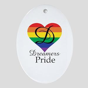 Dreamers Pride Oval Ornament