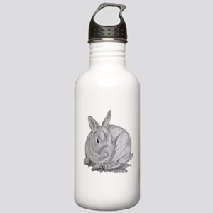 Mini Rex By Karla Hetzler Water Bottle