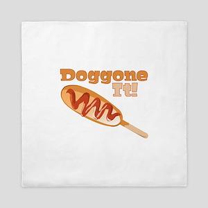 Doggone It Queen Duvet