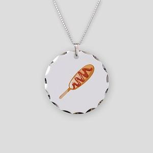 Corn Dog Necklace