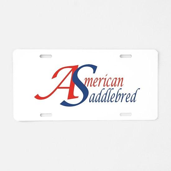 AS2 Aluminum License Plate