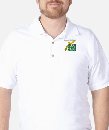 Dragon Nation Bold Golf Shirt