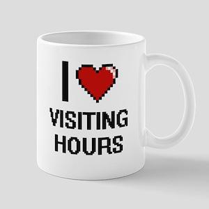 I love Visiting Hours digital design Mugs