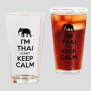 I'm Thai I Can't Keep Calm Drinking Glass
