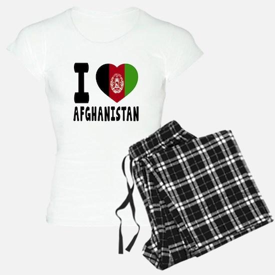 I Love Afghanistan Pajamas